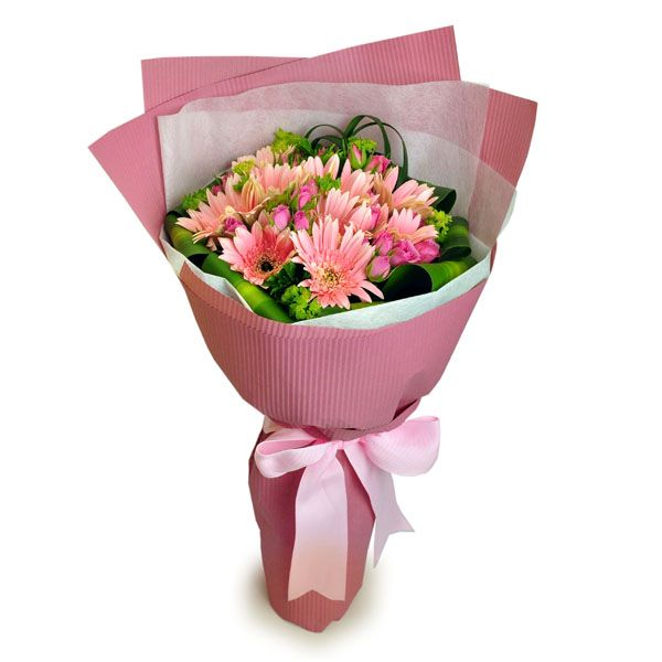 graciousness gerbera bouquet by farm florist singapore
