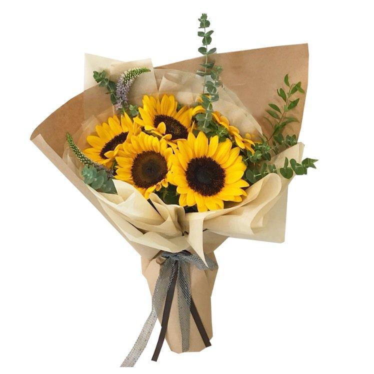 madison sunflower bouquet by FARM Florist Singapore